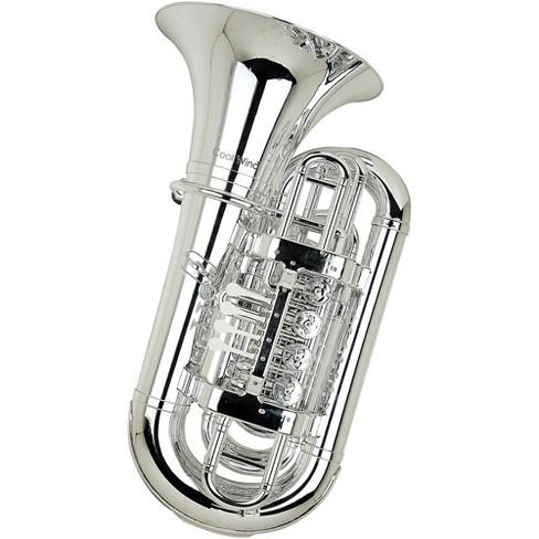 Cool Wind CTU-200 Metallic Series 4-Valve Plastic BBb Tuba - image 1 of 1