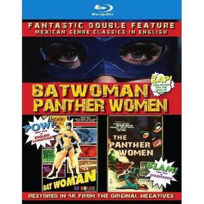 Batwoman & The Panther Women: Double Fea (Blu-ray)(2021)