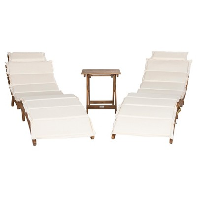 Pacifica 3pc Lounge Set - Safavieh