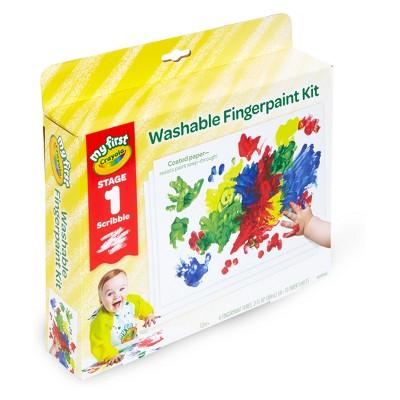 Crayola Stage 1 Washable Fingerpaint Kit