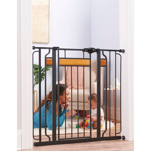 Regalo Extra Tall Home Accents Metal Walk Through Baby Gate - image 1 of 3