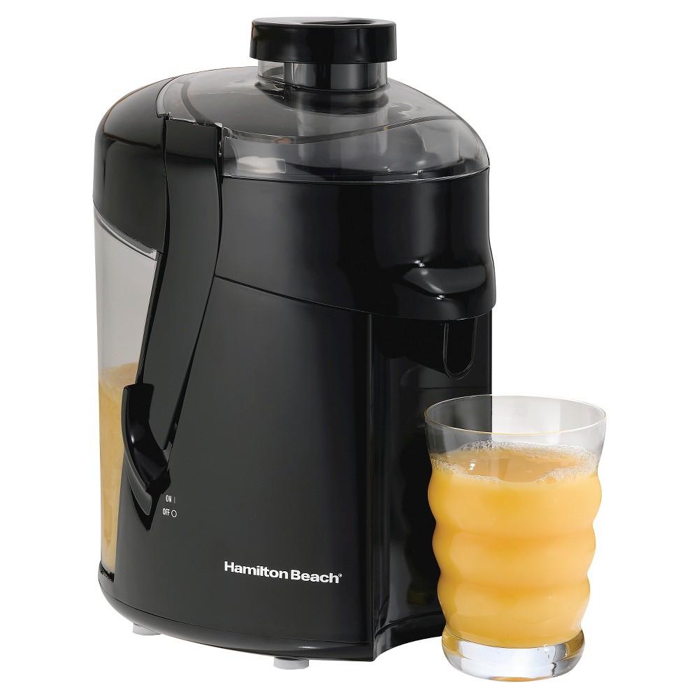 Image of Hamilton Beach HealthSmart Juice Extractor - Black 67801