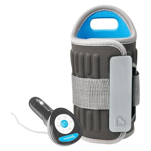 Munchkin Travel Bottle Warmer, Gray
