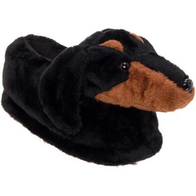 FUNZIEZ! - Women's Dachshund Animal Slippers