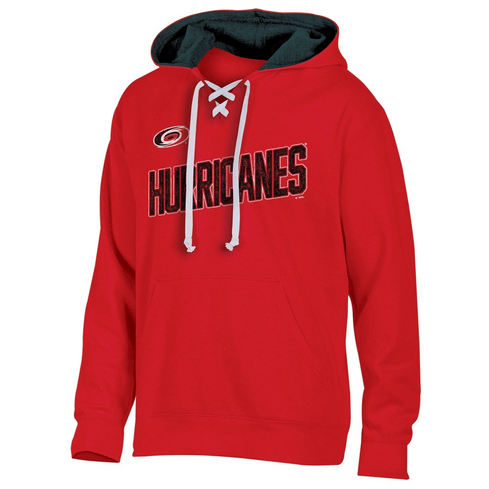 Carolina Hurricanes Men's Hat Trick Laced Hoodie S, Multicolored