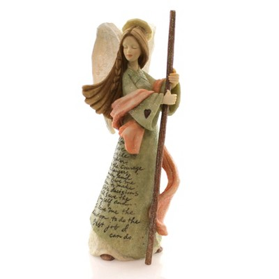 Foundations Firefighters Angel Inspirational Dedication  -  Decorative Figurines