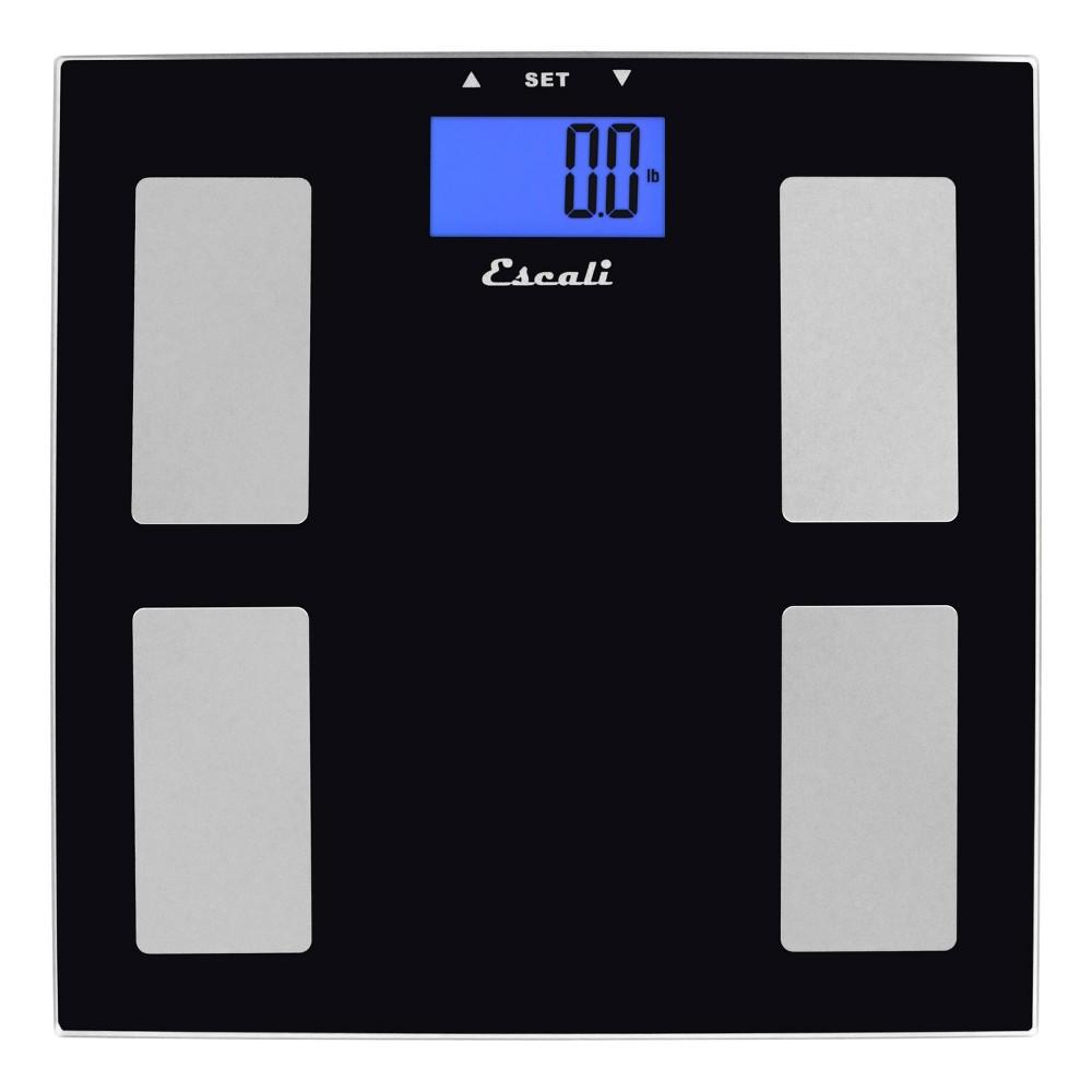 Goal Tracking Body Composition Bath Scale Black Escali