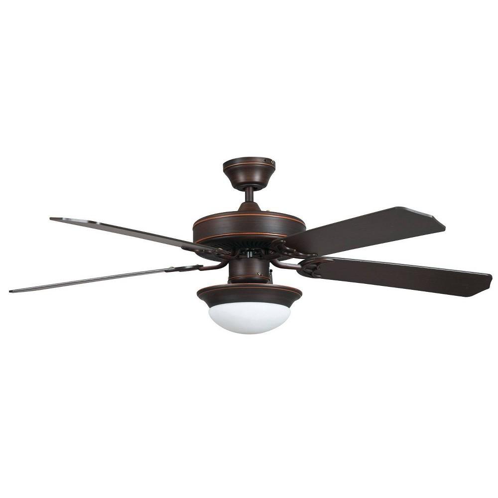 52 Heritage Fusion Ceiling Fan Bronze - Concord Fans