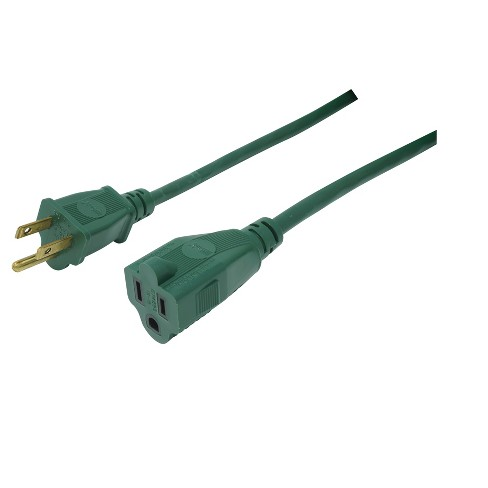 Extension Cord Green 20\' - Woods : Target