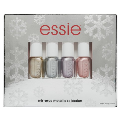 essie Metallic Mirrors Holiday Mini Nail Polish Kit - image 1 of 3