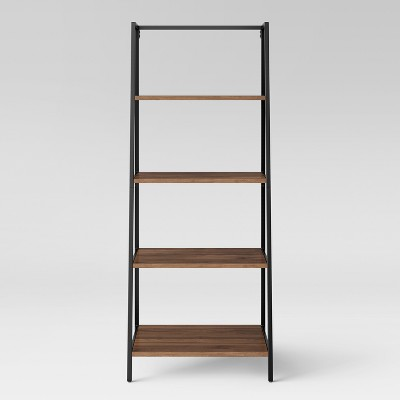 "60"" 4 Shelf Loring Trestle Bookshelf Walnut - Project 62™"