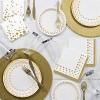 24ct Glitz Gold Disposable Flatware Sets - image 2 of 3