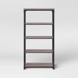 70 6 4 Shelf Bookcase Brown Threshold Target