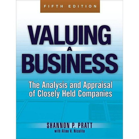 Valuing a Business, 5th Edition - (McGraw-Hill Library of Investment and Finance) 5 Edition (Hardcover) - image 1 of 1