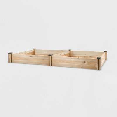 95  x 49  Rectangular Cedar Raised Garden Bed - CedarCraft