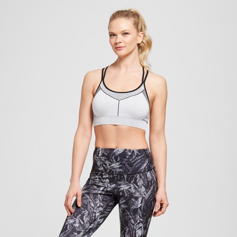 44738c67a0 Women s Seamless Strappy Cami Sports Bra - C9...   Target