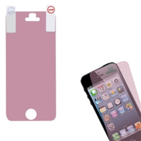 MYBAT Clear Screen Protector Compatible With Apple iPhone 5/5C/5S/SE, Pink - image 1 of 1