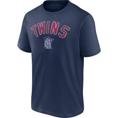 MLB Minnesota Twins Men's Short Sleeve Bi-blend T-Shirt