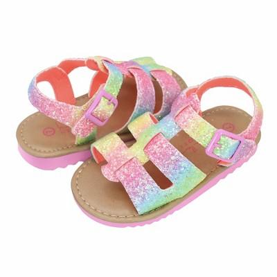 Nicole Miller Toddler Girls' Fisherman Hardsole Sandals