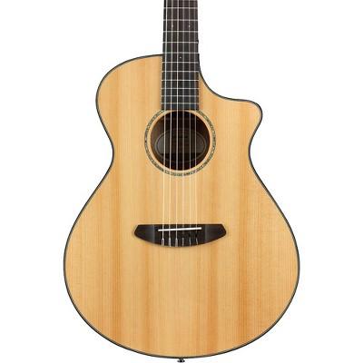 Breedlove Pursuit Nylon Concert Cutaway CE Acoustic-Electric Guitar Natural