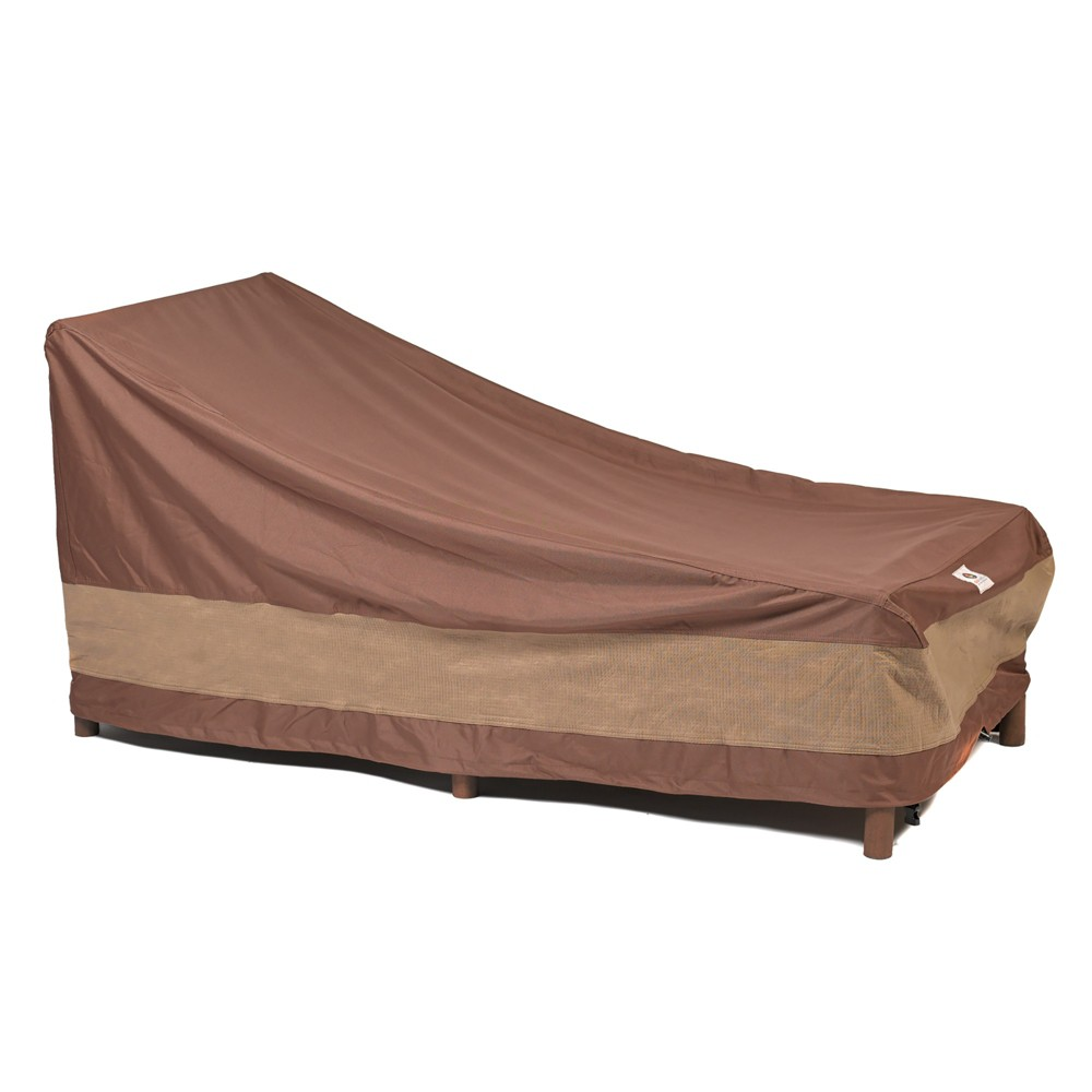 """Image of """"80""""""""L Ultimate Patio Chaise Lounge Cover Mochaccino - Classic Accessories, Pink"""""""