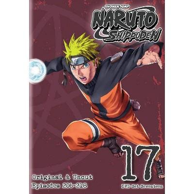 Naruto Shippuden: Box Set 17 (DVD)(2014)