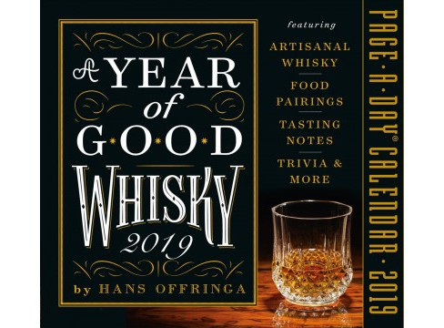 Year of Good Whisky 2019 Calendar -  by Hans Offringa (Paperback) - image 1 of 1
