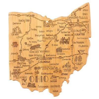 Totally Bamboo Destination Ohio Cutting Board