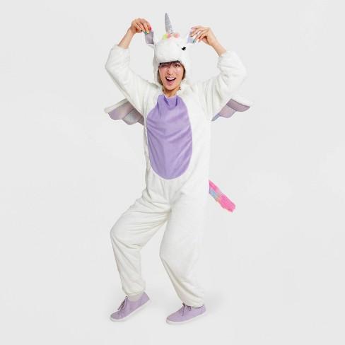 Adult Plush Unicorn Halloween Costume - Hyde & EEK! Boutique™ - image 1 of 1