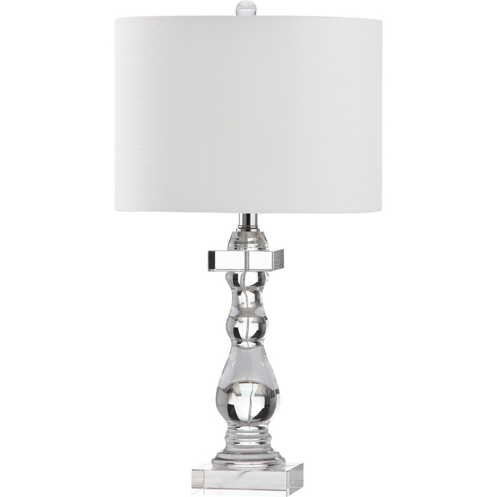 26.5 Delta Table Lamp Clear (Includes CFL Light Bulb) - Safavieh Reviews
