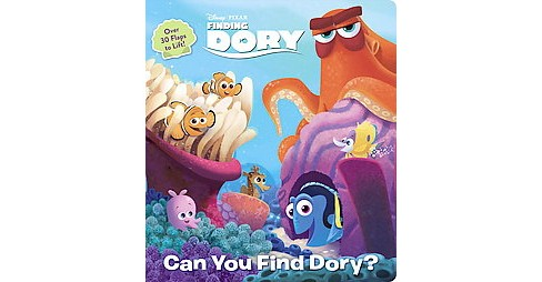 Finding Dory ( Lift-the-flap - Disney/Pixar Finding Dory) (Board) - image 1 of 1