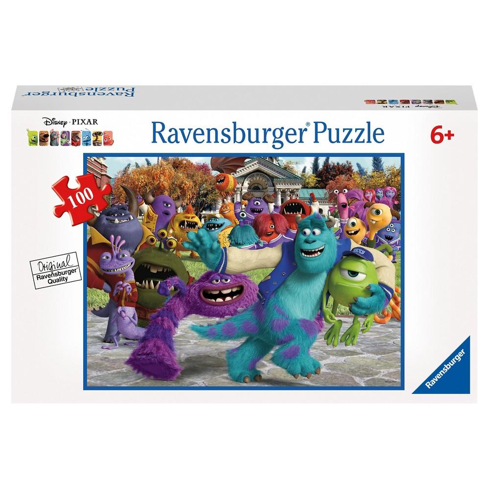 Ravensburger Disney Monsters Univ Picture Day 100pc Puzzle
