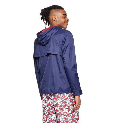 f57a747443 Men's Light Weight Color Blocked Jacket - Navy/Red - Vineyard Vines® For  Target : Target