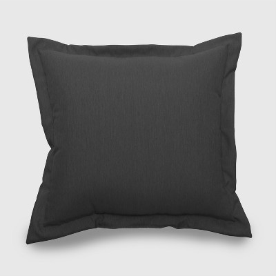 Outdoor Deep Seat Pillow Back Cushion Charcoal - Threshold™