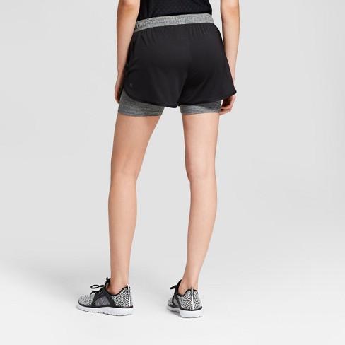 0a4c5764e7dd Women s Training Knit Layered Shorts 4