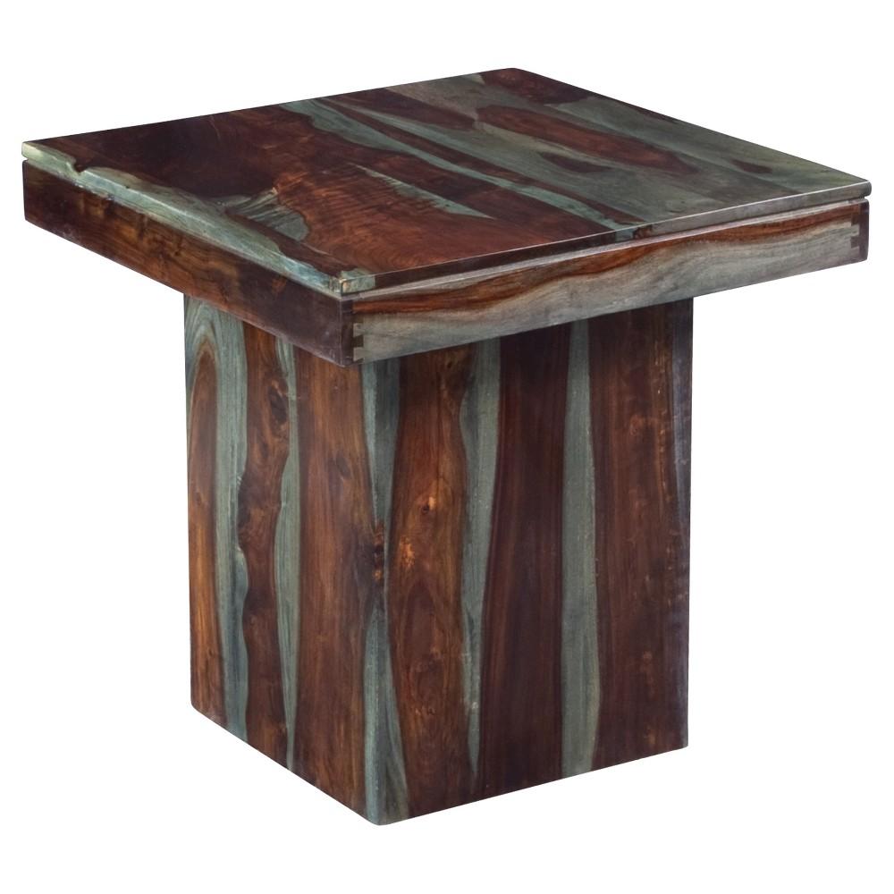 End Table Gray - Treasure Trove