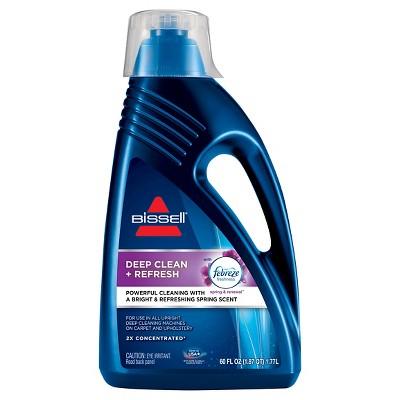BISSELL® 2X Deep Clean + Refresh 60oz. Upright Carpet Cleaner Formula - 1052