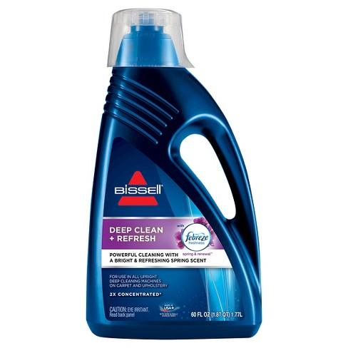 Bis 2x Deep Clean Refresh 60oz Upright Carpet Cleaner Formula 1052