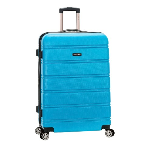 """Rockland Melbourne 28"""" Expandable Hardside Spinner Suitcase - Turquoise - image 1 of 5"""