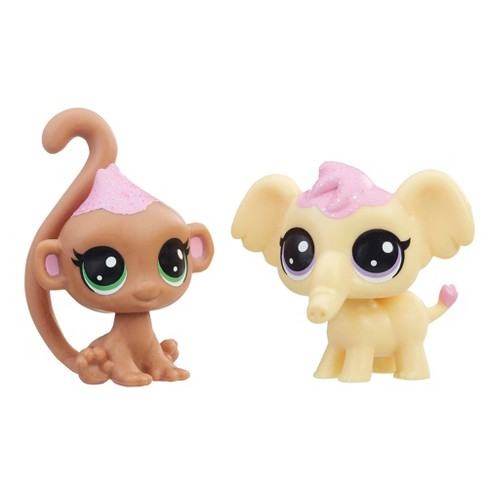 Littlest Pet Shop Frosting Frenzy BFFs - Wild - 2pc - image 1 of 2