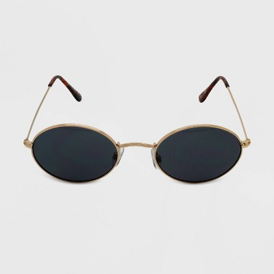 Women's Oval Sunglasses - Wild Fable™ Gold