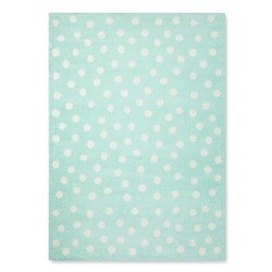 Polka Dot Plush Area Rug - Pillowfort™