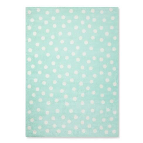 Polka Dot Plush Area Rug Pillowfort Target
