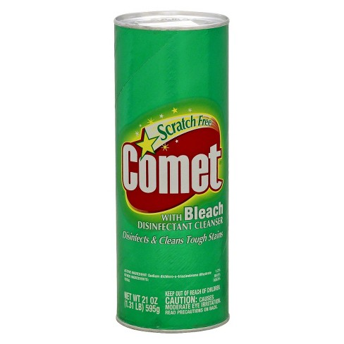 Comet with Bleach Disinfectant Cleanser Scratch Free - 21oz - image 1 of 1