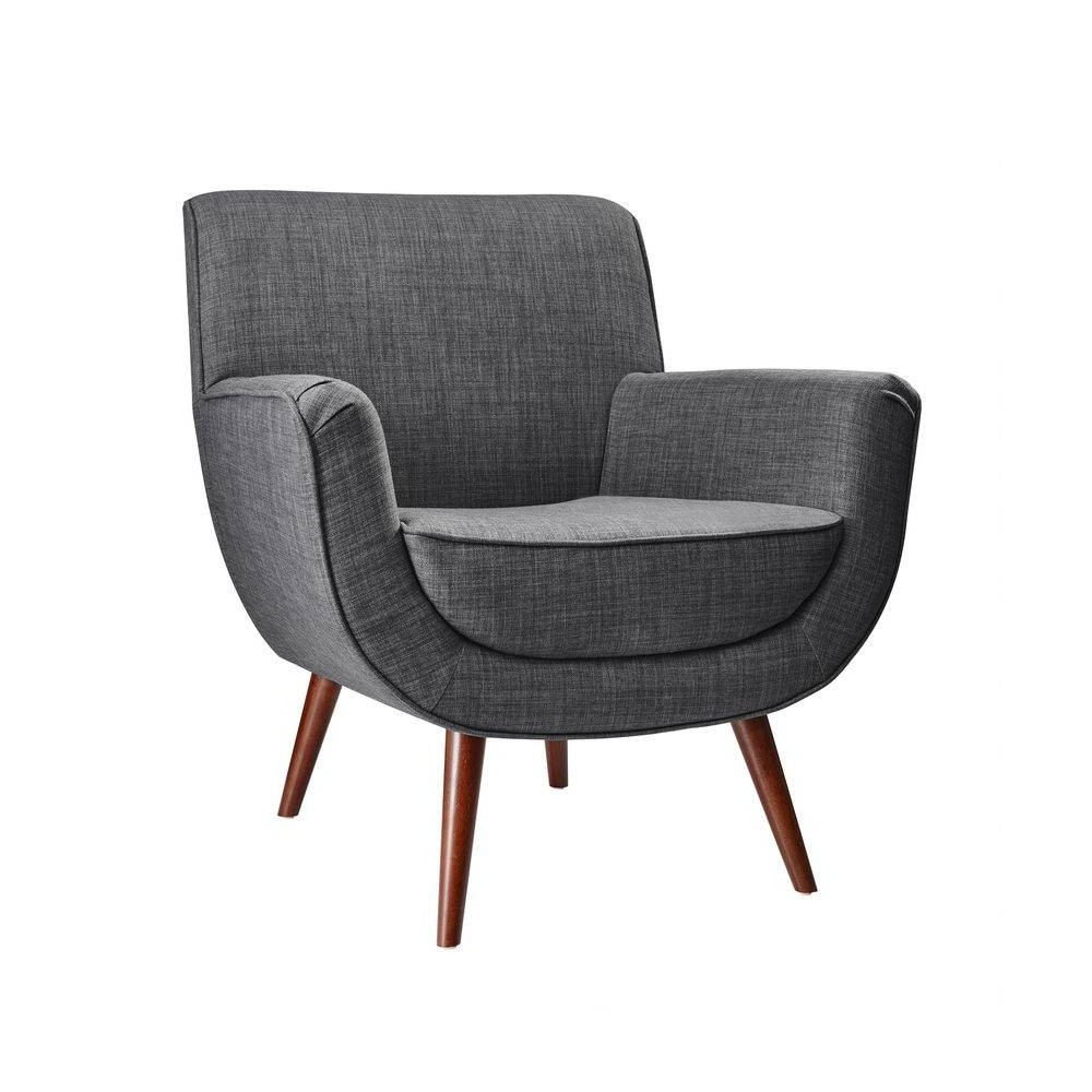 Cormac Chair Charcoal Gray - Adesso
