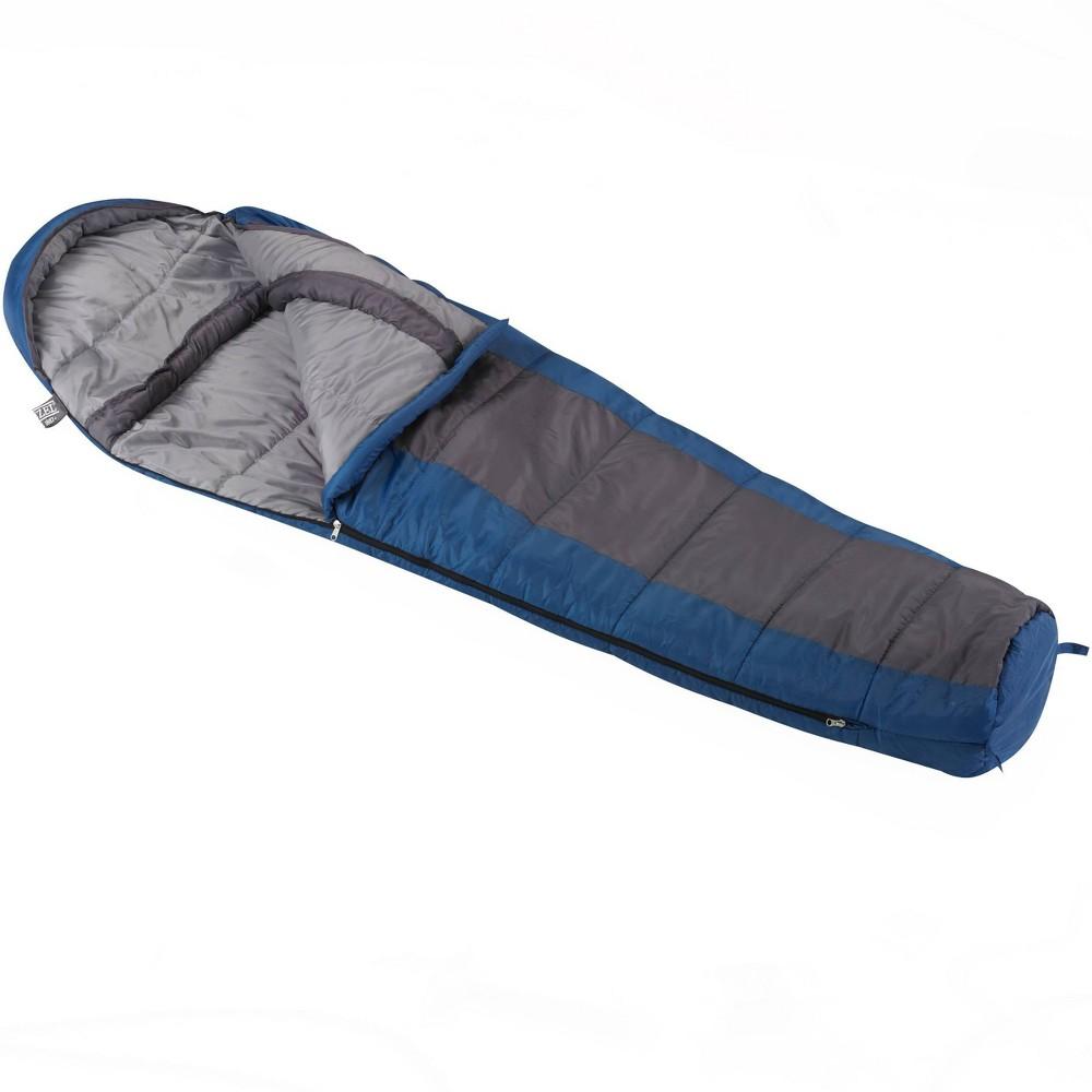 Image of Wenzel Santa Fe 20 Degrees Fahrenheit Mummy Sleeping Bag - Blue
