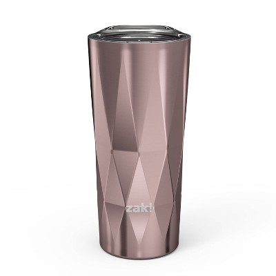 Zak Designs 16oz Fractal Double Wall Stainless Steel Pint Tumbler