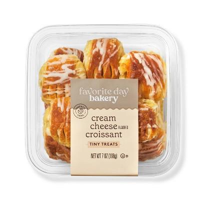 Cream Cheese Croissant Tiny Treats - 7oz/10ct - Favorite Day™