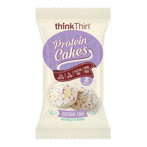 ThinkThin Birthday Cake Flavored Protein Cakes