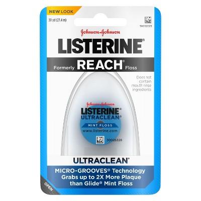 Dental Floss: Listerine Ultraclean